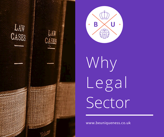 Why did BeUniqueness choose the legal sector?