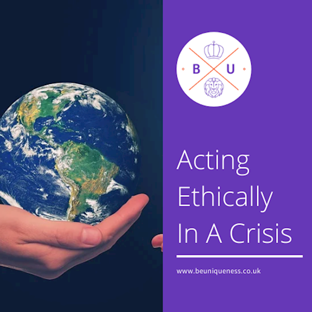 How acting ethically in a crisis can boost your brand