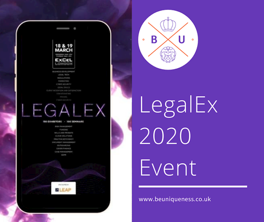 BeUniqueness set for spectacular debut at LegalEx 2020