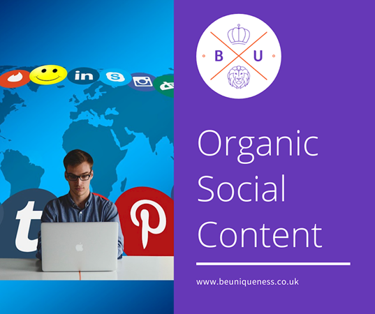 How can organic social media boost your marketing efforts?