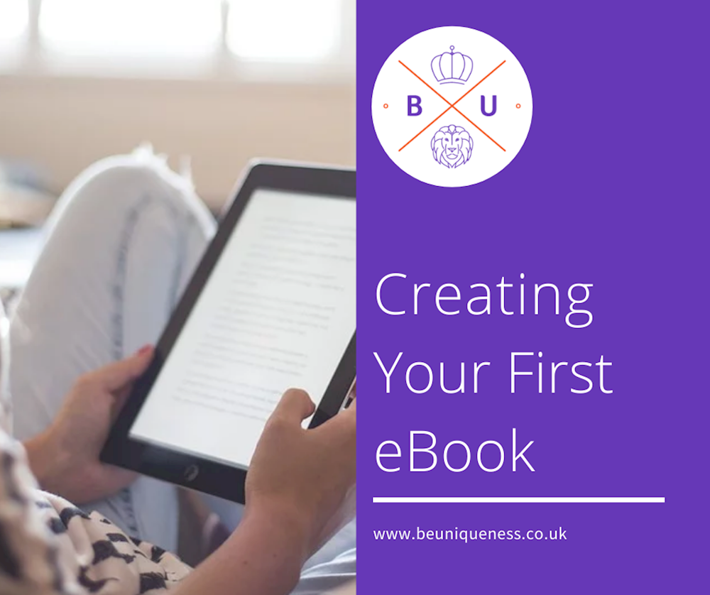 Creating your First E-book