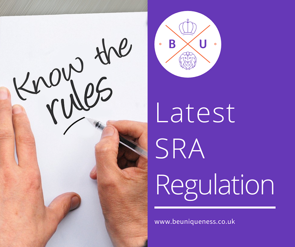 How can the legal sector comply with the latest SRA guidelines?