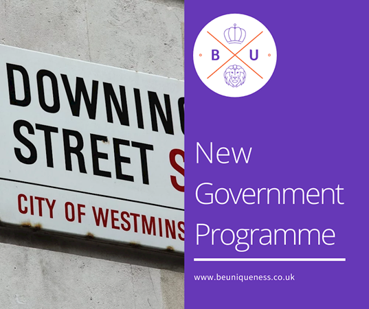 What will the new government's programme mean for the legal sector?