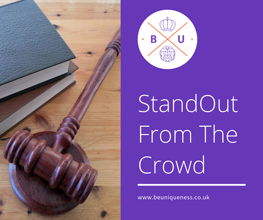 How can you stand out in a crowded legal marketplace?
