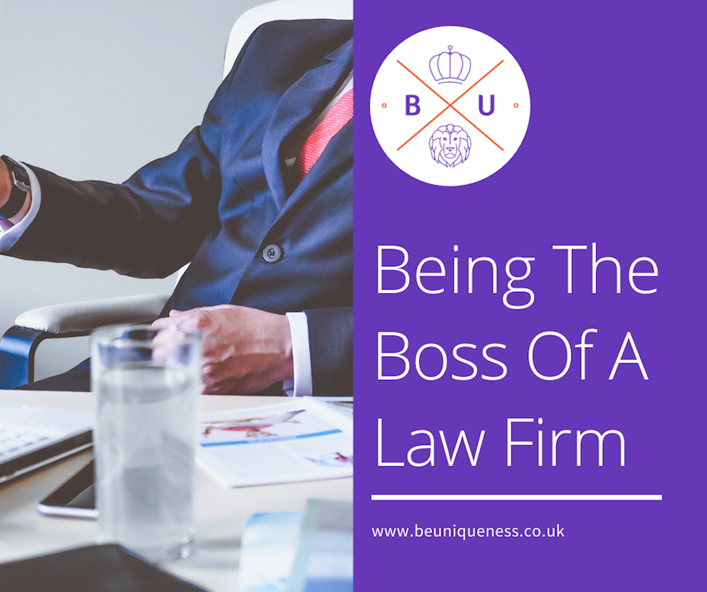 How can you be a top boss of a law firm?