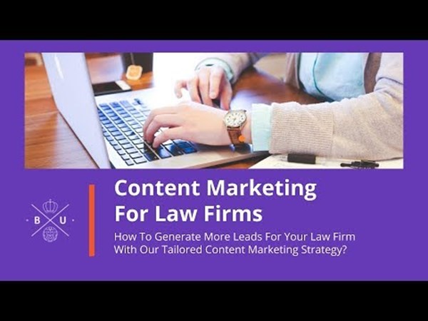 Content Marketing for Law Firm