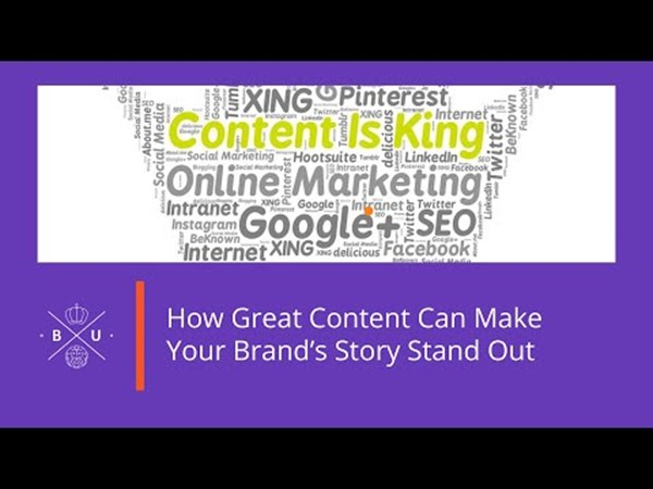 How Great Content Can Make Your Brand's Story Stand Out